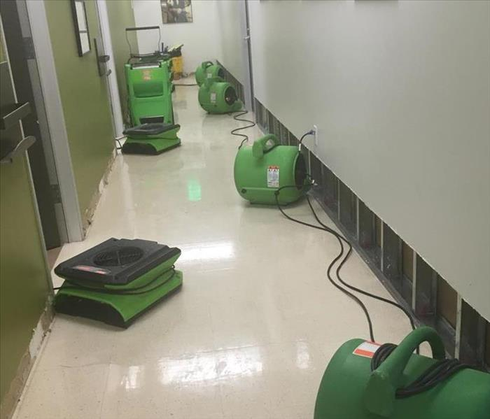Office Flooded After Cleaning Equipment Malfunctioned After