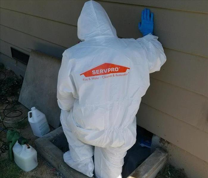SERVPRO Technician Geared Up and Ready to Go