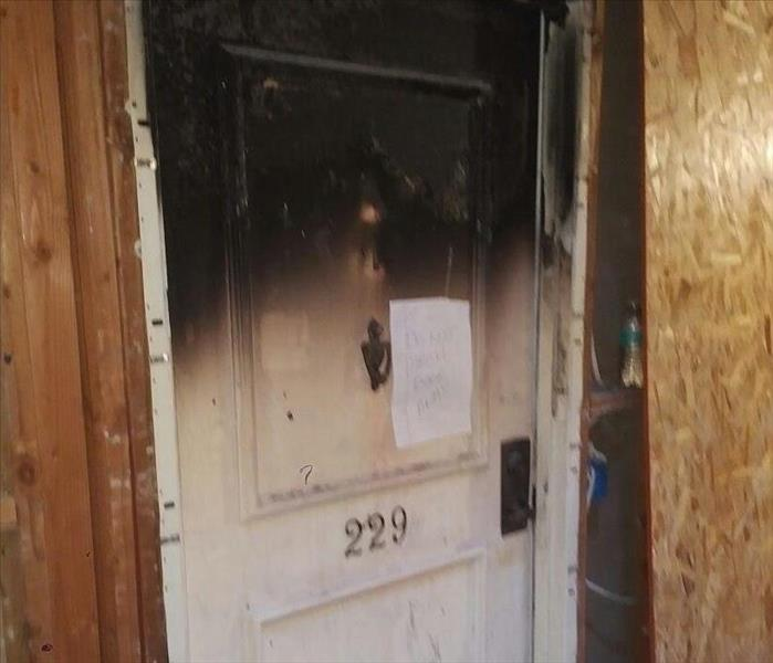 Fire Damage SERVPRO Assists With Local Fire!